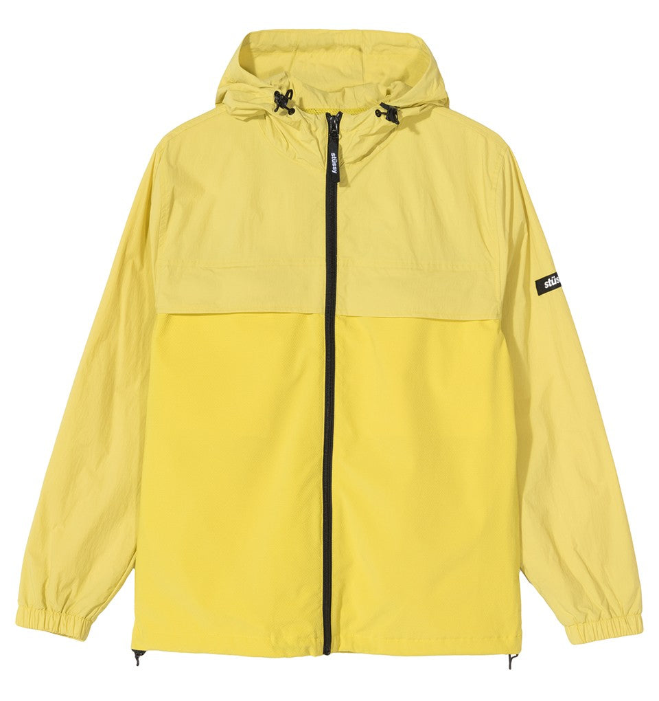 STÜSSY TREK JACKET // LEMON