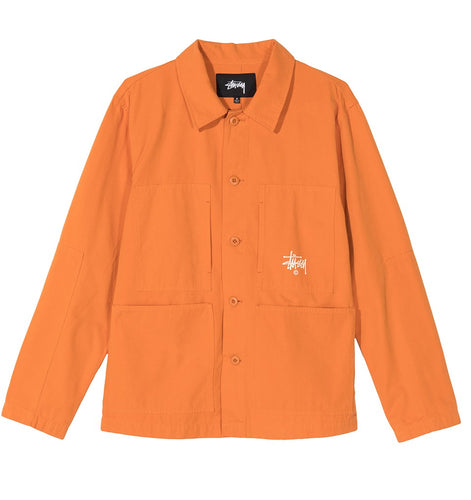 STÜSSY TORQUE JACKET // ORANGE
