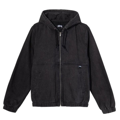 STÜSSY DENIM WORK JACKET // BLACK