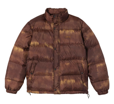 STÜSSY AURORA PUFFER JACKET // BROWN