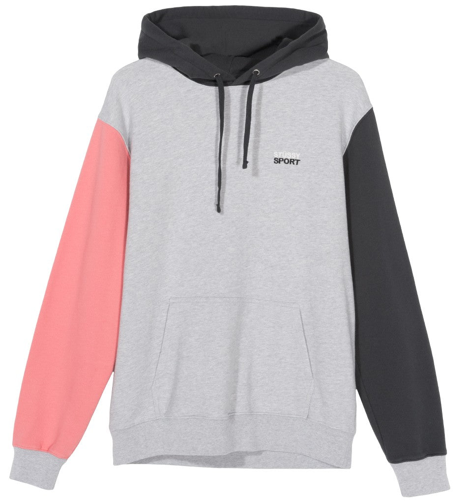 STÜSSY STUSSY SPORT HOODIE // GREY HEATHER