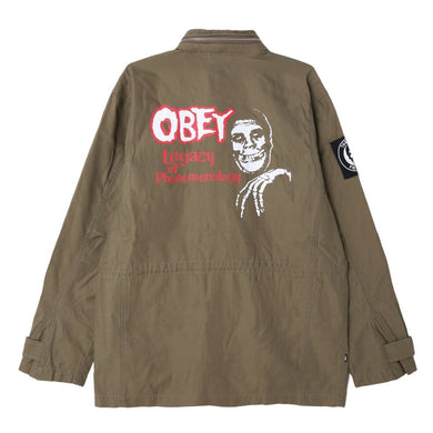 OBEY X MISFITS M-65 JACKET // DULL ARMY