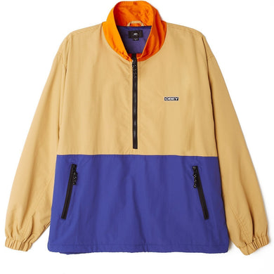OBEY THE TUCKER ANORAK JACKET // ALMOND MULTI