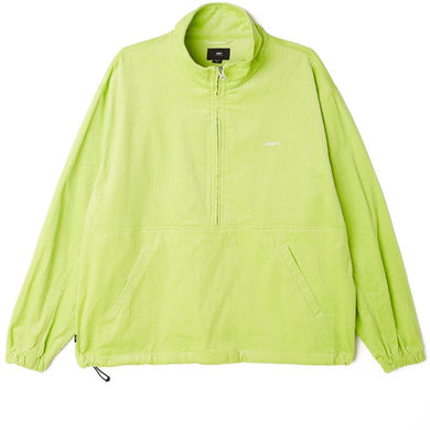 OBEY HUGO ANORAK JACKET // KEY LIME