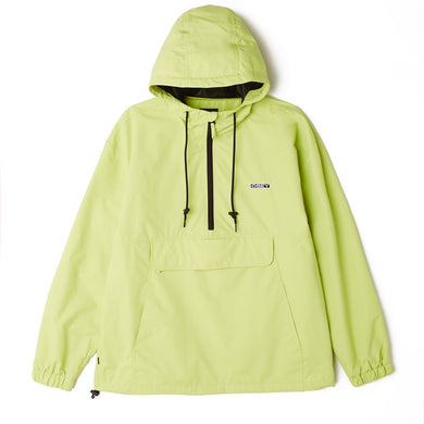 OBEY RECESS II ANORAK // KEY LIME