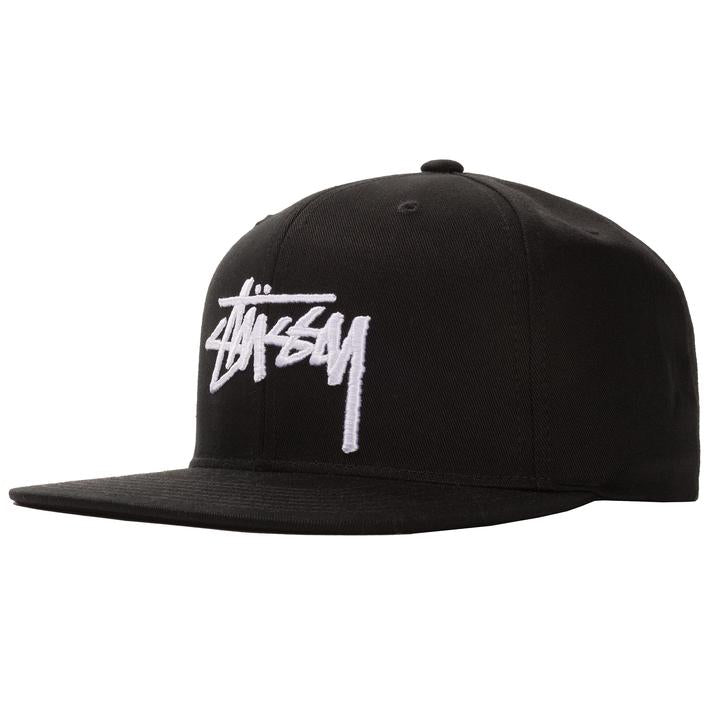 STÜSSY STOCK CAP // BLACK