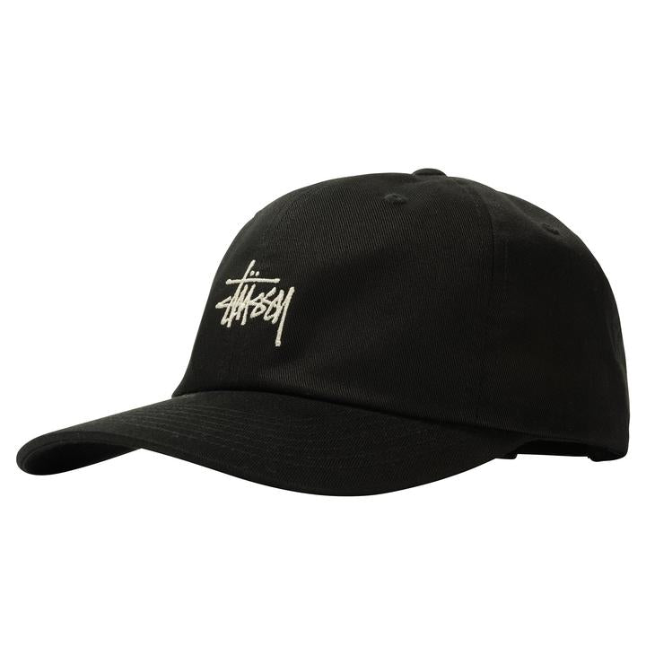 STÜSSY STOCK LOW PRO CAP // BLACK