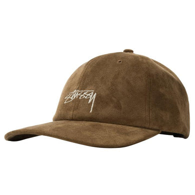 STÜSSY MICROFIBER LOW PRO CAP // BROWN