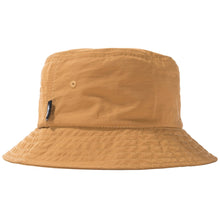 STÜSSY REVERSIBLE BUCKET HAT // MUSTARD