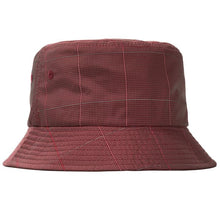 STÜSSY REFLECTIVE WINDOW PANE BUCKET // RED