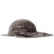 STÜSSY DYED NYLON BUNGEE CAMP CAP // GREY