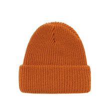 STÜSSY STOCK CUFF BEANIE // BURNT ORANGE