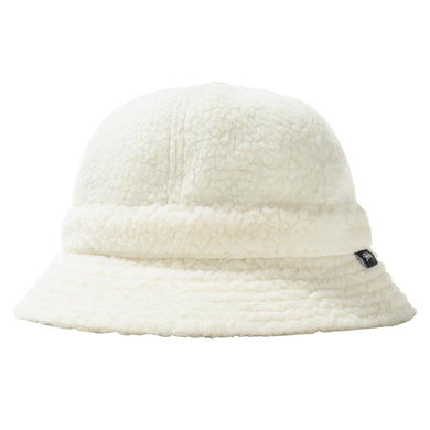 STÜSSY SHERPA FLEECE BELL BUCKET HAT // NATURAL