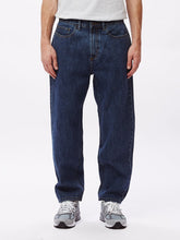 OBEY HARDWORK DENIM // STONE WASH INDIGO