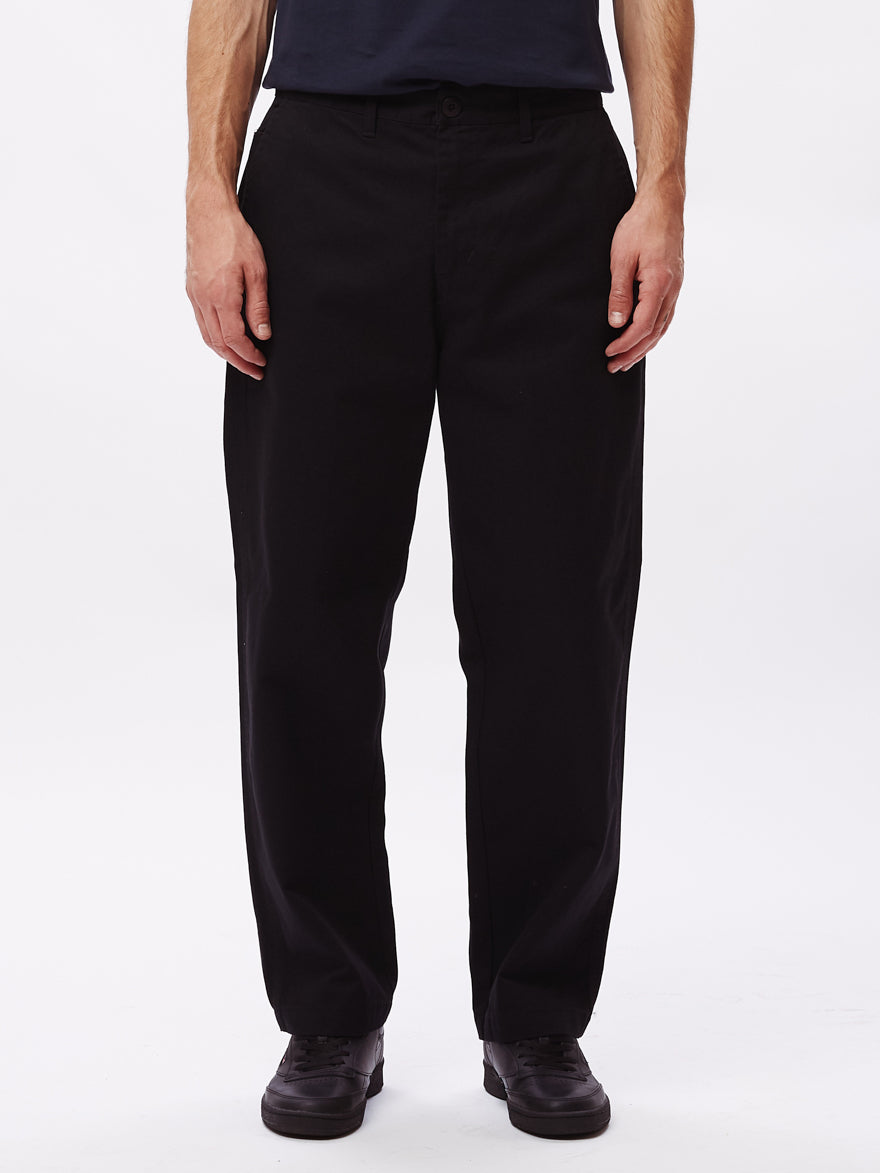OBEY HARDWORK PANT // BLACK