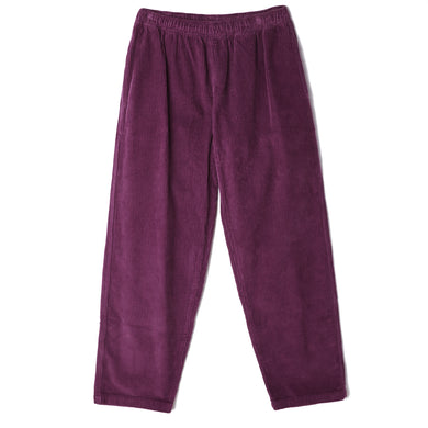 OBEY EASY OD CORD PANT // BLACKBERRY WINE