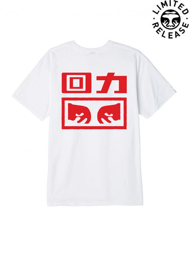 OBEY X WARRIOR TEE // WHITE