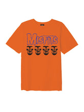 OBEY X MISFITS FIEND SKULLS TEE // ORANGE