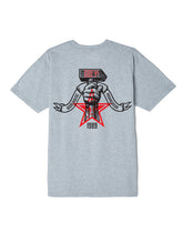 OBEY HAMMER TEE // HEATHER GREY