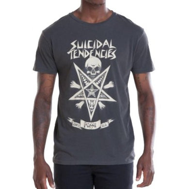 OBEY X SUICIDAL TENDENCIES POSSESSED TEE // DUSTY BLACK