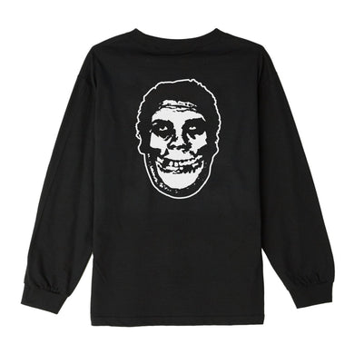 OBEY X MISFITS FIEND CLUB BASIC LONG SLEEVE TEE // BLACK