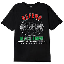 OBEY DEFEND BLACK LIVES CLASSIC T-SHIRT // BLACK