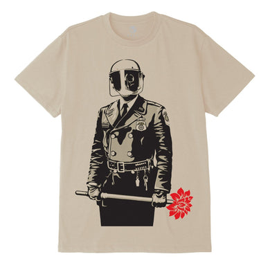 OBEY SADISTIC FLORIST SUSTAINABLE TEE // CREAM