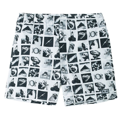 OBEY EASY CHAOS SHORT // ZINE WHITE
