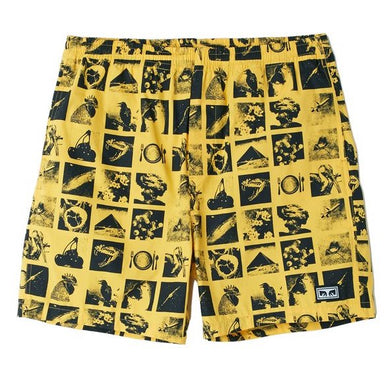 OBEY EASY CHAOS SHORT // ZINE ENERGY YELLOW