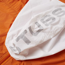 STÜSSY SPORT NYLON JACKET // ORANGE