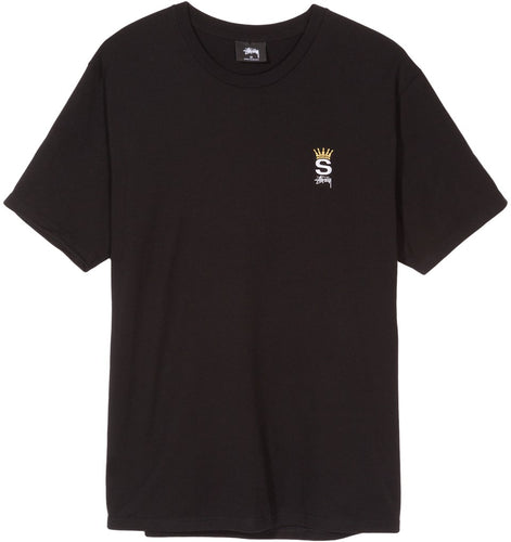 STÜSSY CROWN ROYAL TEE // BLACK