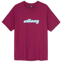 STÜSSY BEARINGS TEE // WINE