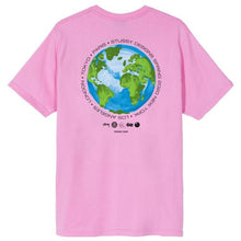STÜSSY GLOBAL DESIGN CORP. TEE // PINK