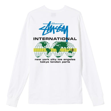 STÜSSY INTERNATIONAL LS TEE // WHITE