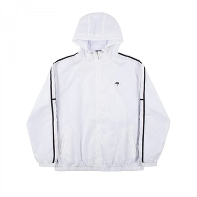HÉLAS CLASSIC H STRIPES TRACKSUIT JACKET // WHITE