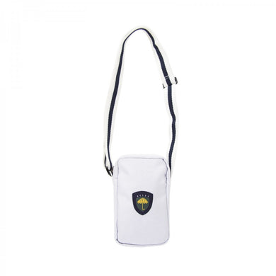 HÉLAS FAN NECK BAG // WHITE