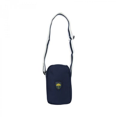 HÉLAS FAN NECK BAG // NAVY