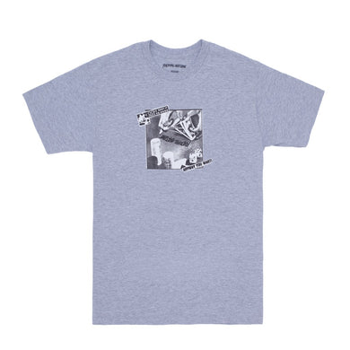 FUCKING AWESOME OOH BABY TEE // SPORT GREY
