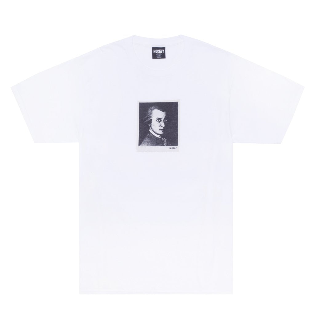HOCKEY MOZART TEE // WHITE