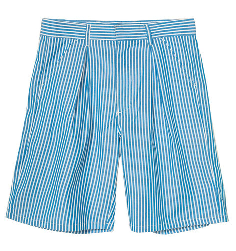 STÜSSY DORIS STRIPE BAGGY SHORT // BLUE STRIPE