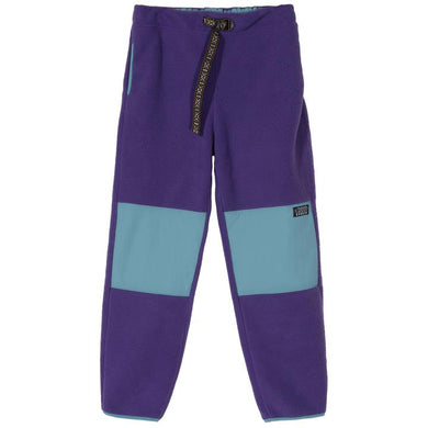 STÜSSY SUMMIT POLAR FLEECE PANT // PURPLE