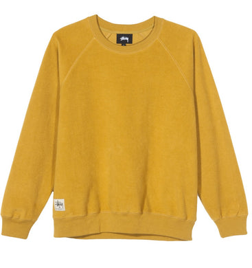 STÜSSY MARLOWE INSIDE OUT CREW // GOLD (WMNS)