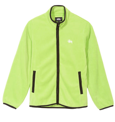 STÜSSY LUNA FLEECE FULL ZIP // LIME