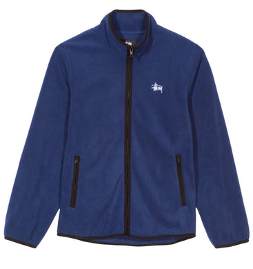STÜSSY LUNA FLEECE FULL ZIP // ROYAL