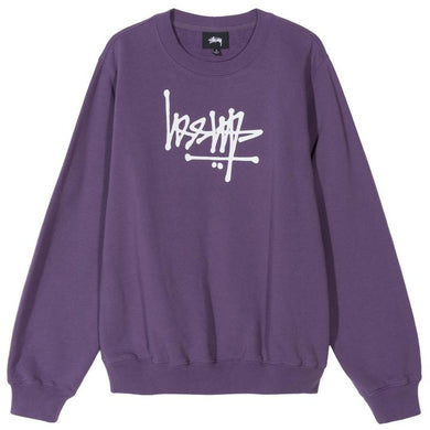 STÜSSY FLIP CREW FLEECE // BERRY (WMNS)