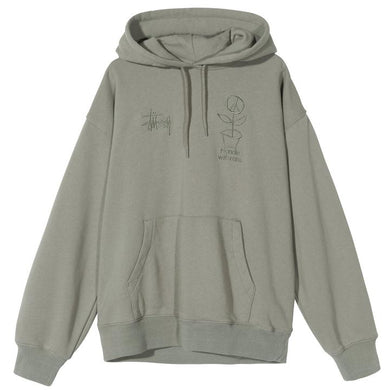 STÜSSY CARE HOOD // GREY