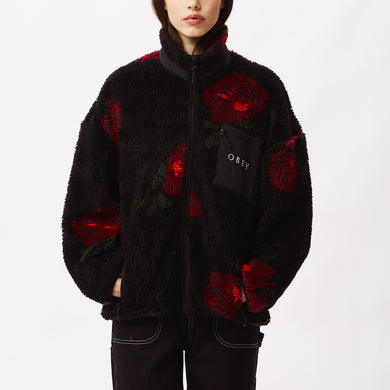 OBEY MESA SHERPA JACKET // BLACK MULTI