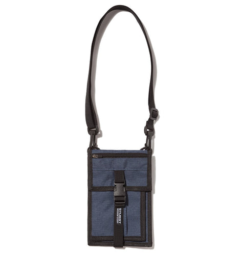 STÜSSY SIDEKICK CROSSBODY POUCH // NAVY