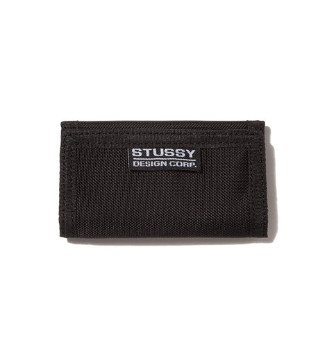 STÜSSY CRUZER KEY WALLET // BLACK