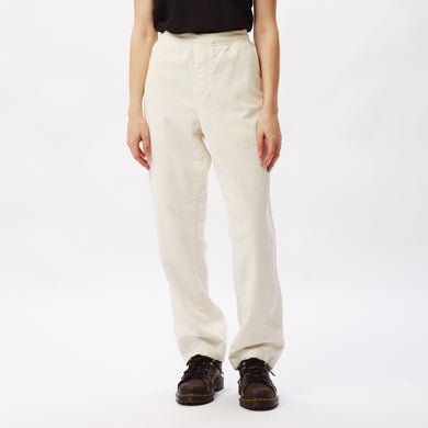 OBEY SPLASH CORD PANT // BONE